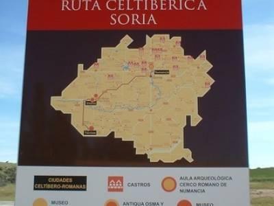 Yacimiento Arqueológico Celtibérico y Romano de Tiermes; grupo de senderismo madrid